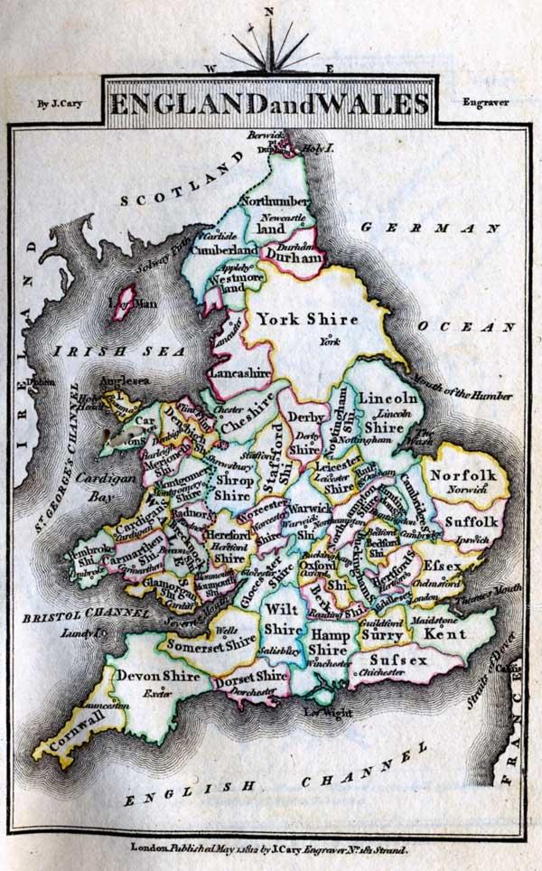 Jane Austen Gazetteer  Mansfield Park  England and Wales