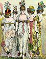 [1800 Isaac Cruikshank Parisian Fashion Satire JPEG]