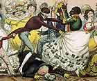 [1823-1825 Robert Cruikshank Blind Man's Buff Caricature JPEG]